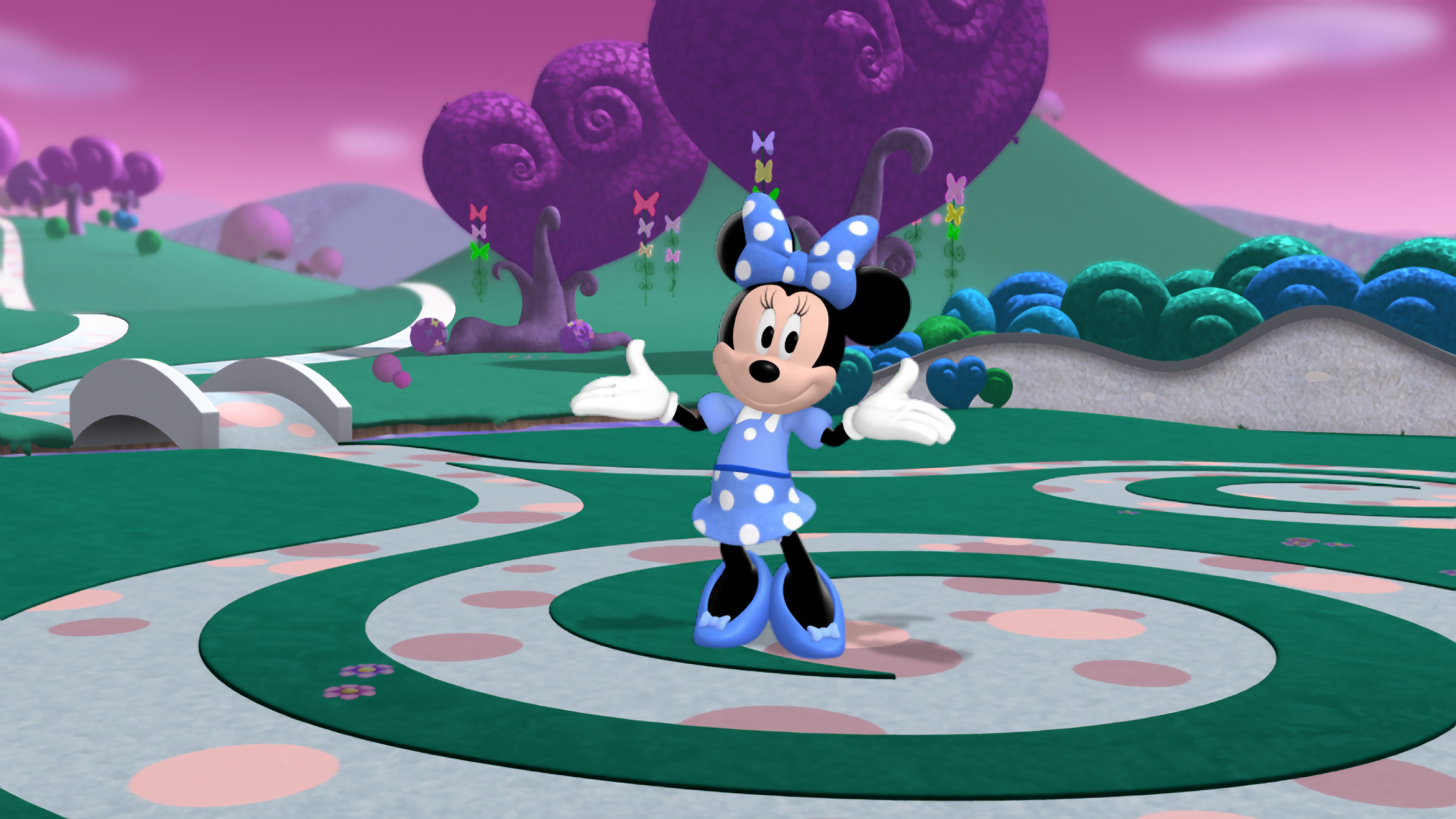 """Sigue el camino de """"Mickey Mouse Clubhouse: Minnie\'s The Wizard of ..."""