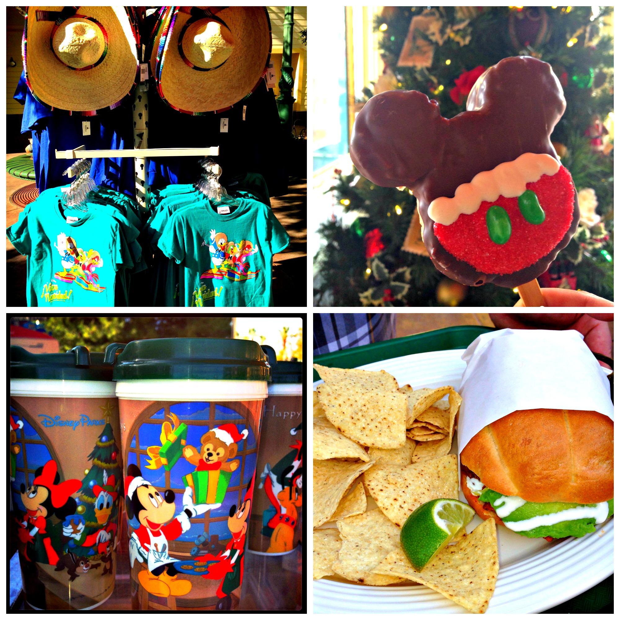 En el disneyland resort se vive el colorido de la navidad mam 225
