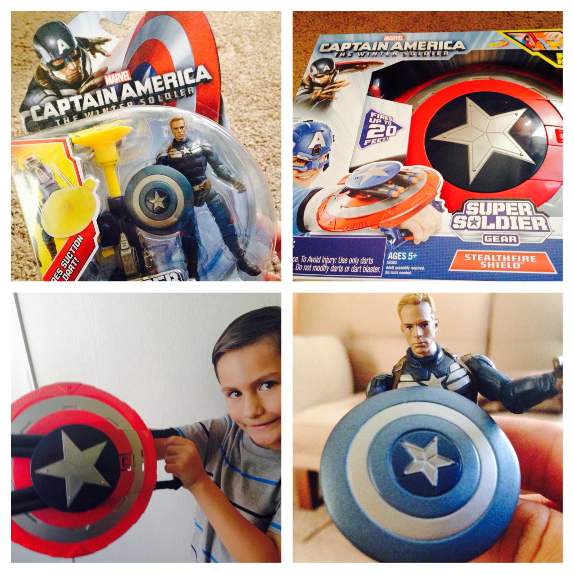 """Mamá al rescate con """"Captain America""""   Mamá Noticias"""