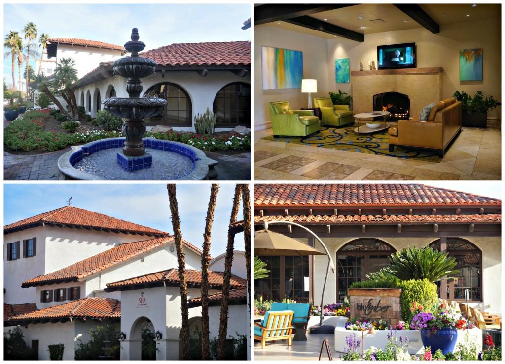 Interiores del Hotel Rancho Las Palmas