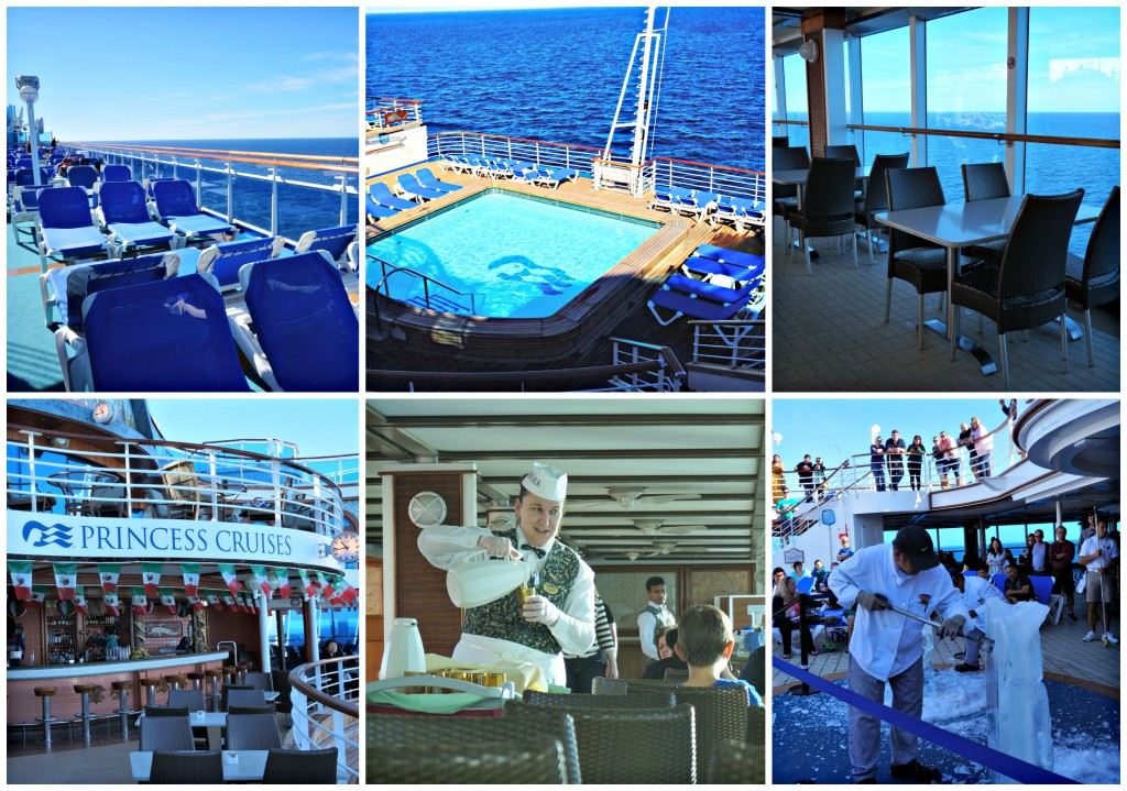 Paseo de dia en el Princess Cruises Crown