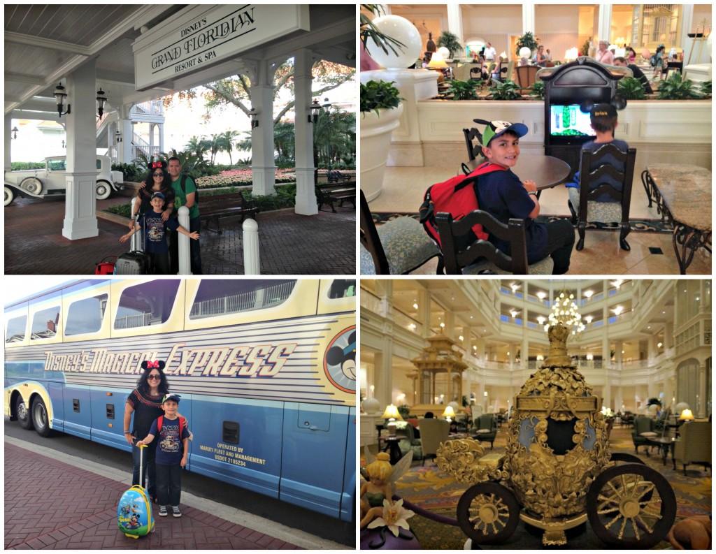 Detalles de una visita a Grand Floridian