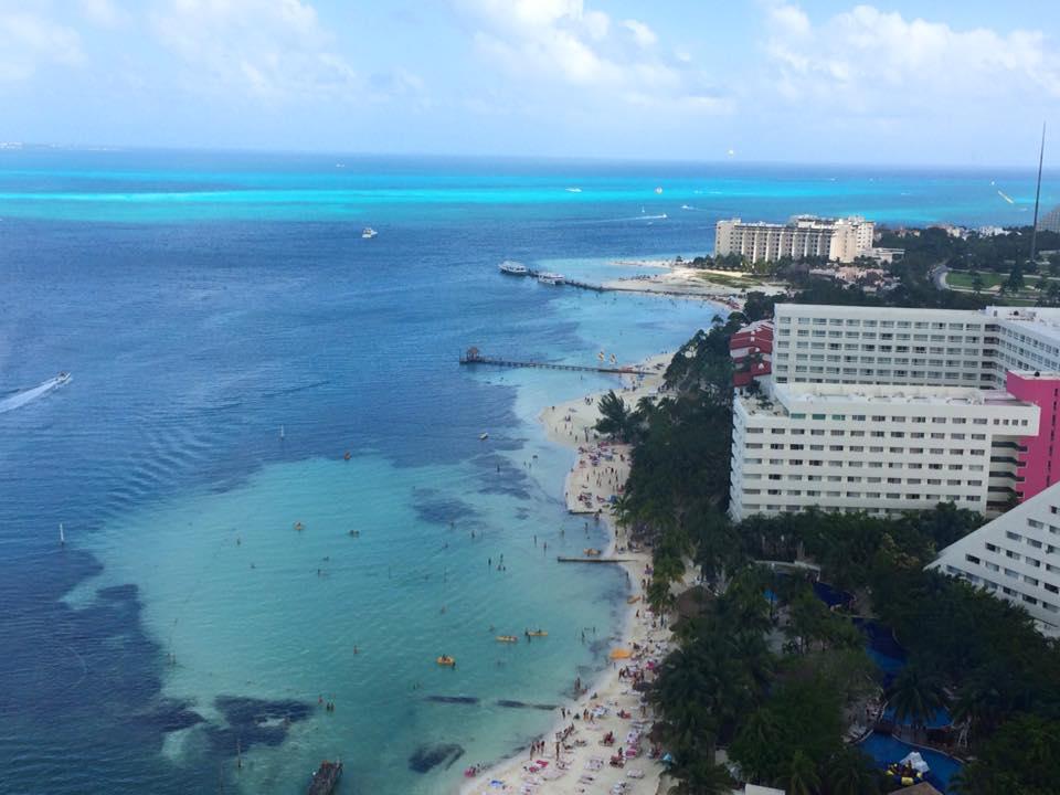 Vista Panorámica de Cancun