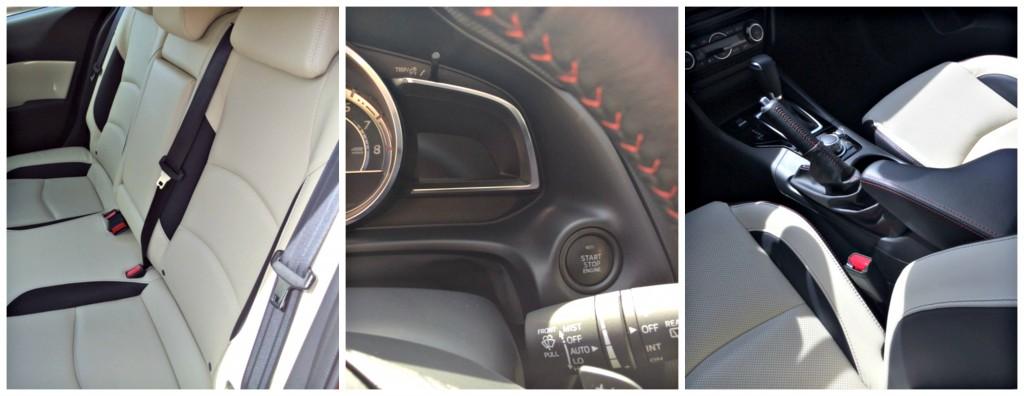 Detalle del Mazda3 s Grand Touring