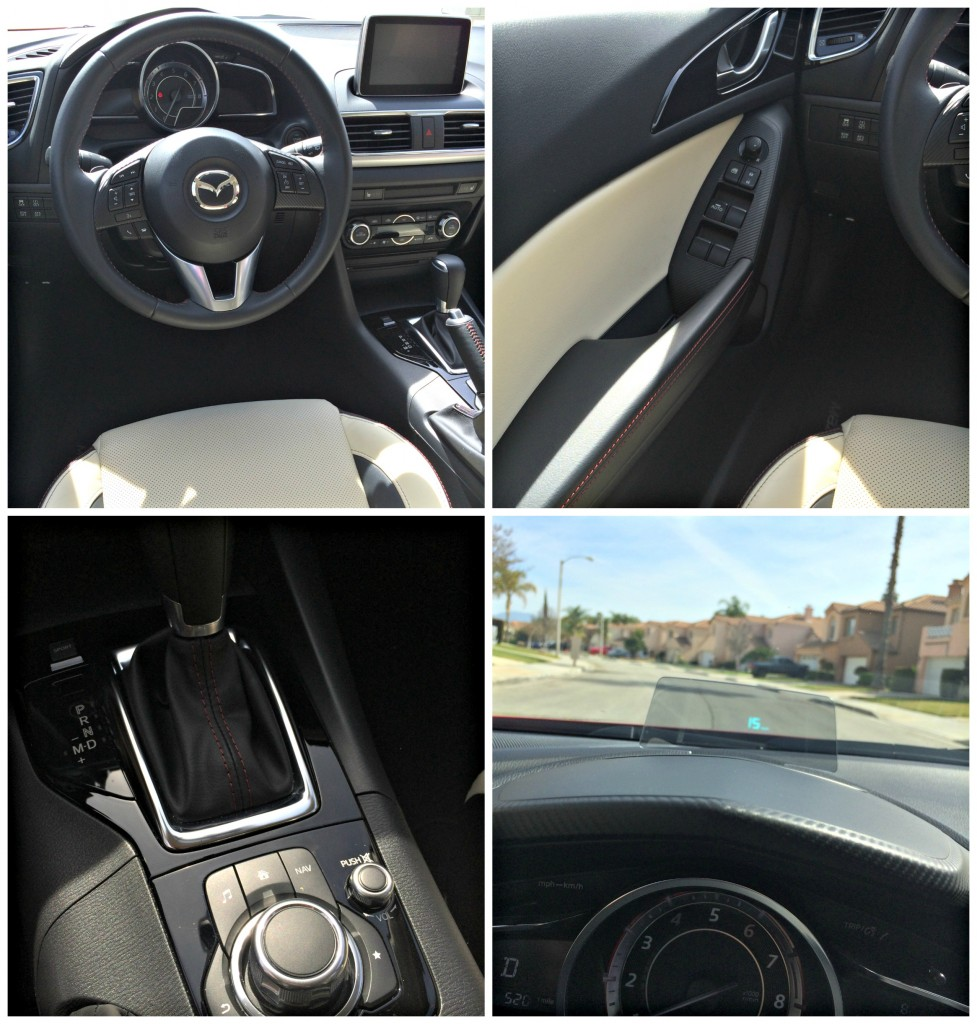 Detalles del Mazda3 s Grand Touring