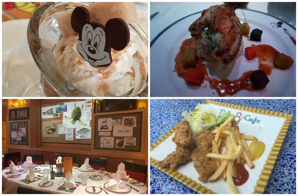 Comida Disney Dream