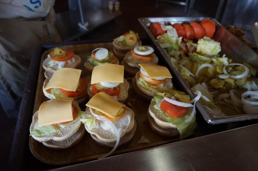 Comida en Castaway Cay