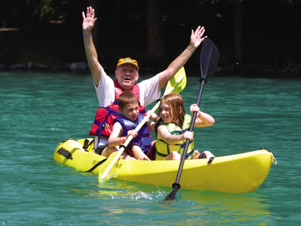 Kayak Fun -Courtesy Wheel Fun Rentals