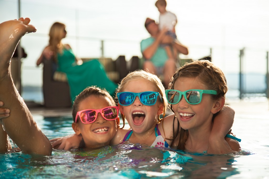 Kids Pool Fun -Courtesy Hilton San Diego Bayfront