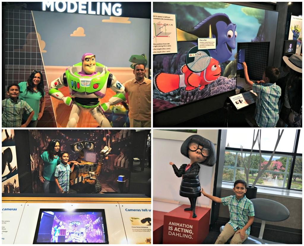 Recorriendo el mundo de Pixar