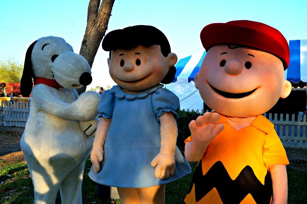 Snoopy y sus amigos