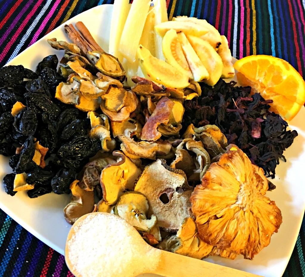 frutas para el ponche