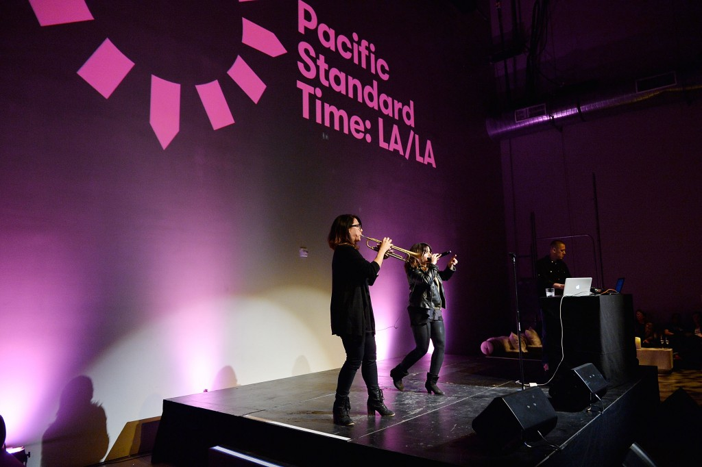 LOS ANGELES, CA - JANUARY 18:  Ceci Bastida performs onstage during Pacific Standard Time: LA/LA Countdown Celebration on January 18, 2017 in Los Angeles, California.  (Photo by Stefanie Keenan/Getty Images for Polskin Arts & Communications Counselors)