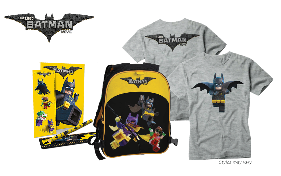 "Paquete de regalos de ""The LEGO Batman Movie"""