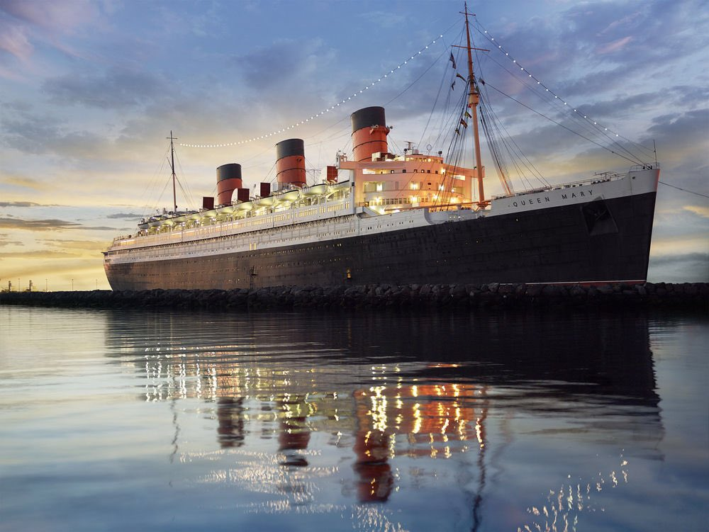 The Queen Mary en Long Beach