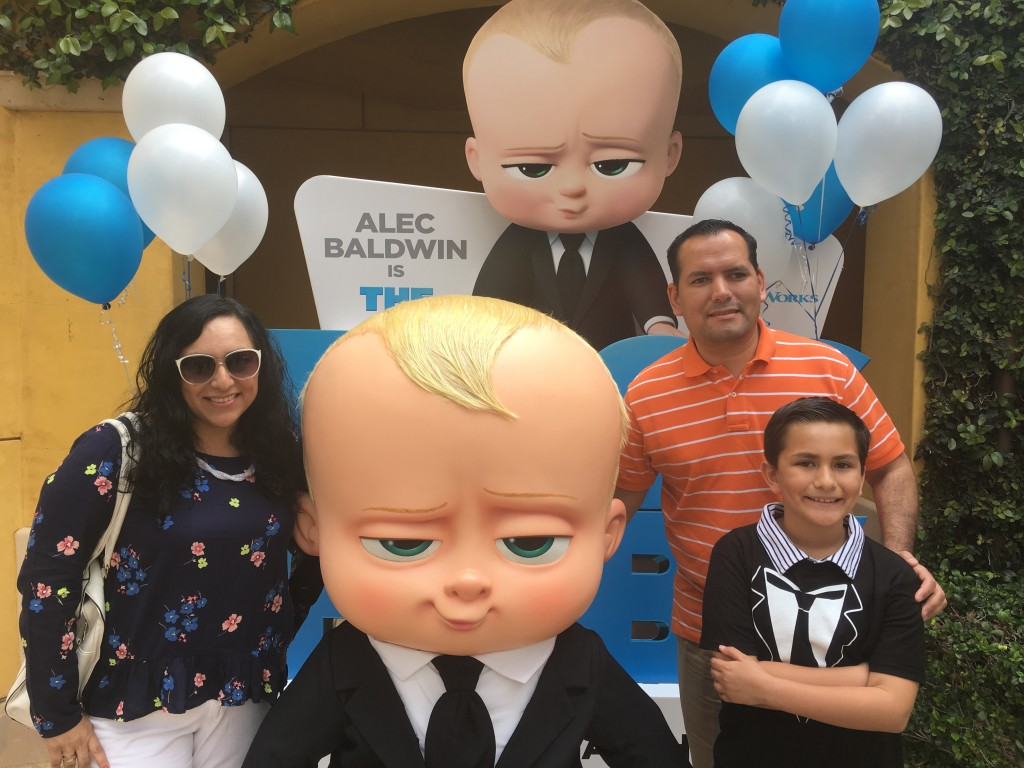 Estreno de la cinta The Boss Baby en Los Angeles