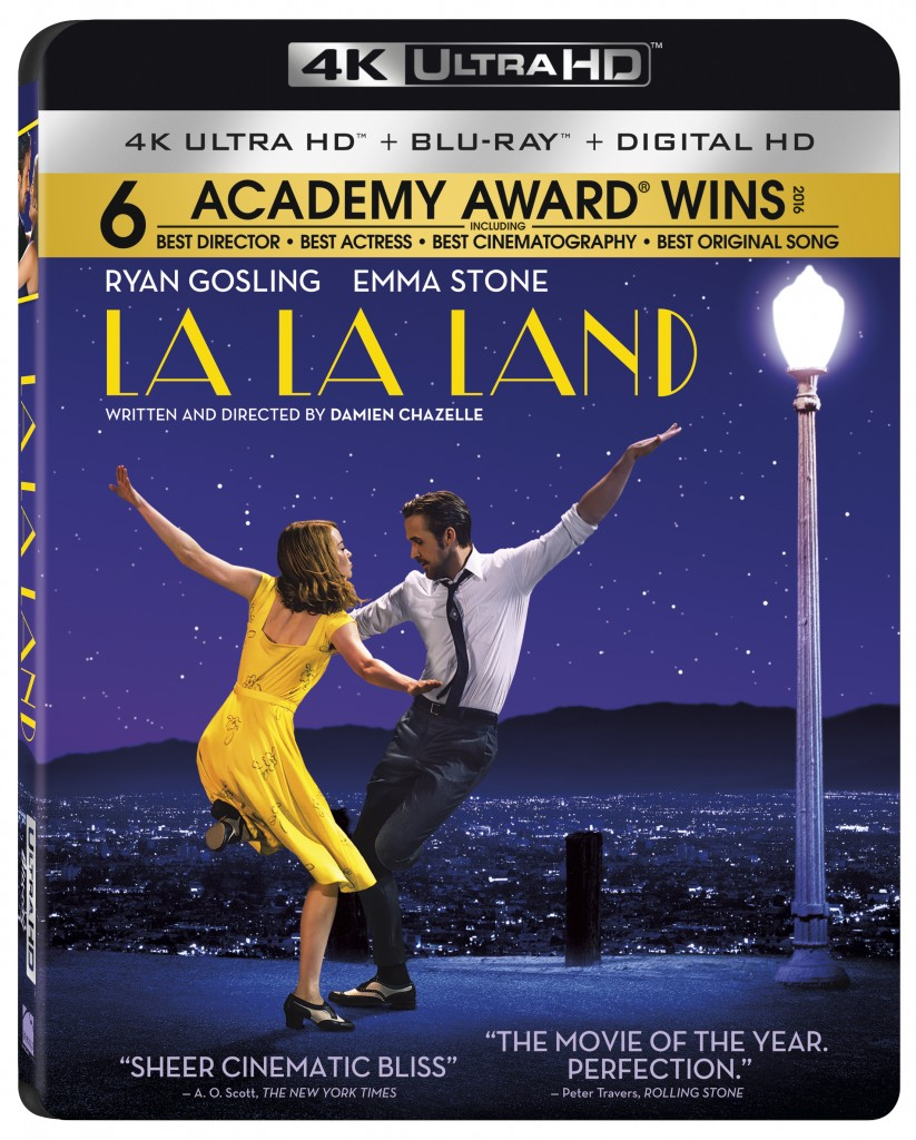 La La Land Desembarca en Digital HD el 11 de Abril y en 4K Ultra HD Combo Pack, Blu-rayTM Combo Pack y DVD el 25 de Abril de la mano de Lionsgate¹s Summit Entertainment Label