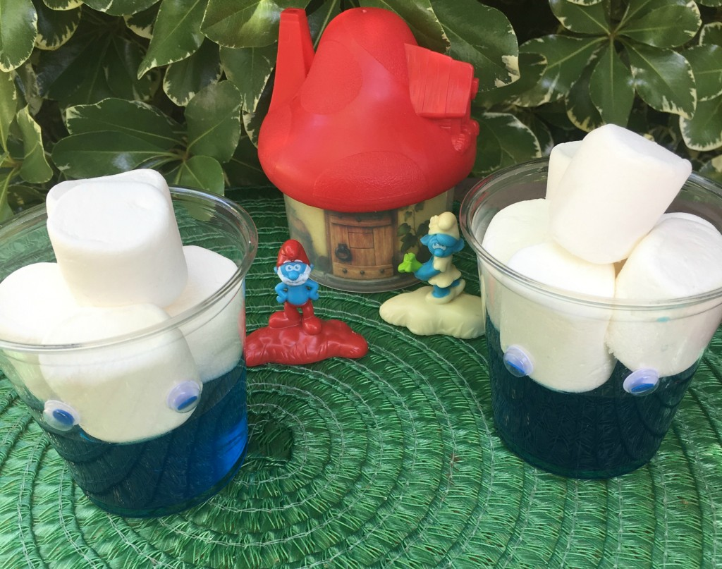 gelatinas-de-smurfs