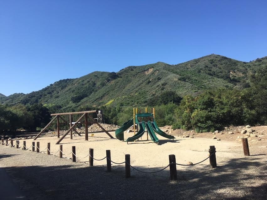Área de juegos en Ventura Ranch KOA