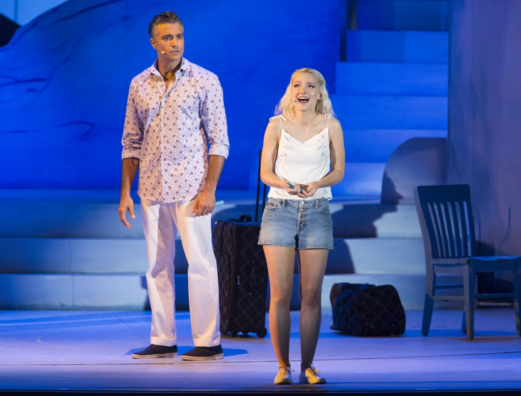 Jaime Camil and Dove Cameron Photos by Craig T. Mathew and Greg Grudt/Mathew Imaging