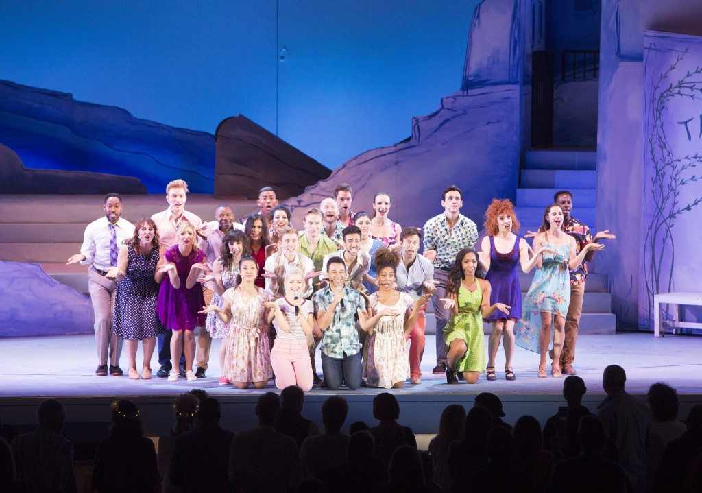The cast of Mamma Mia! Photos by Craig T. Mathew and Greg Grudt/Mathew Imaging