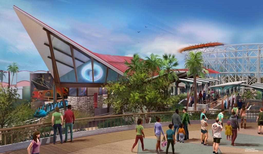 Pixar Pier se inaugura el verano de 2018 en Disney California Adventure Park