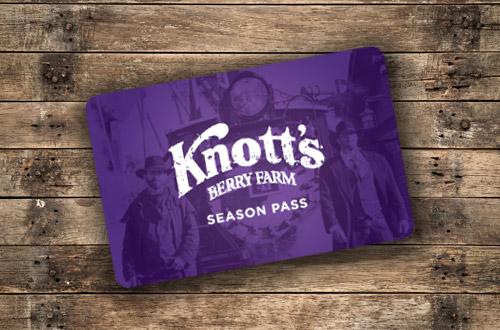 Knott;s Berry Farm Season Pass