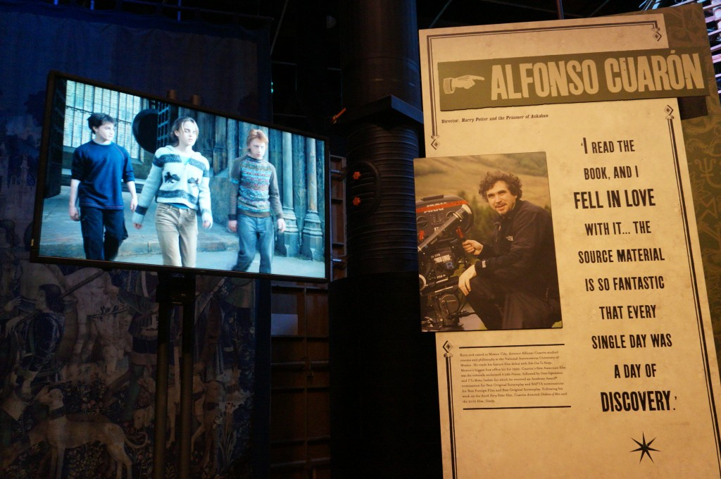 Alfonso Cuaron y Harry Potter