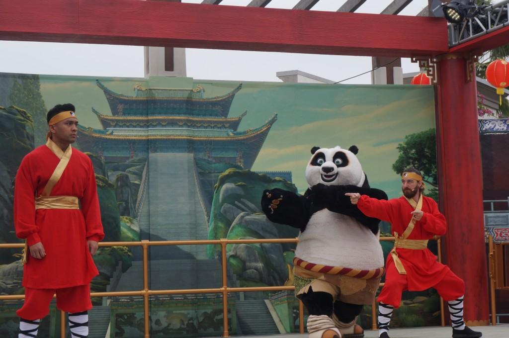 Po y Tigress de Kung Fu Panda de DreamWorks encabezan el Totalmente-Nuevo  evento, 'Año Nuevo Lunar' de Universal Studios Hollywood
