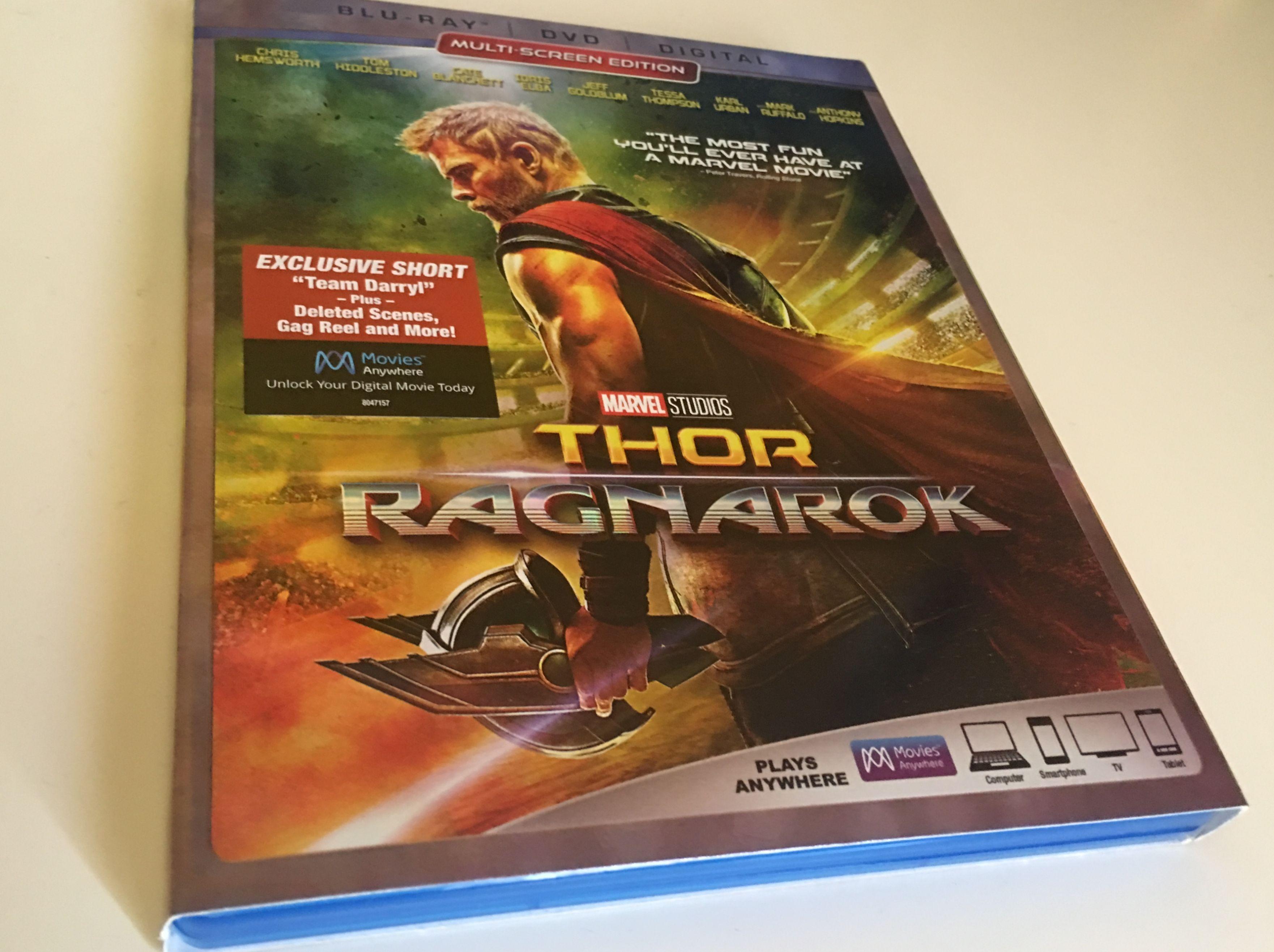 ragnarök thor dvd