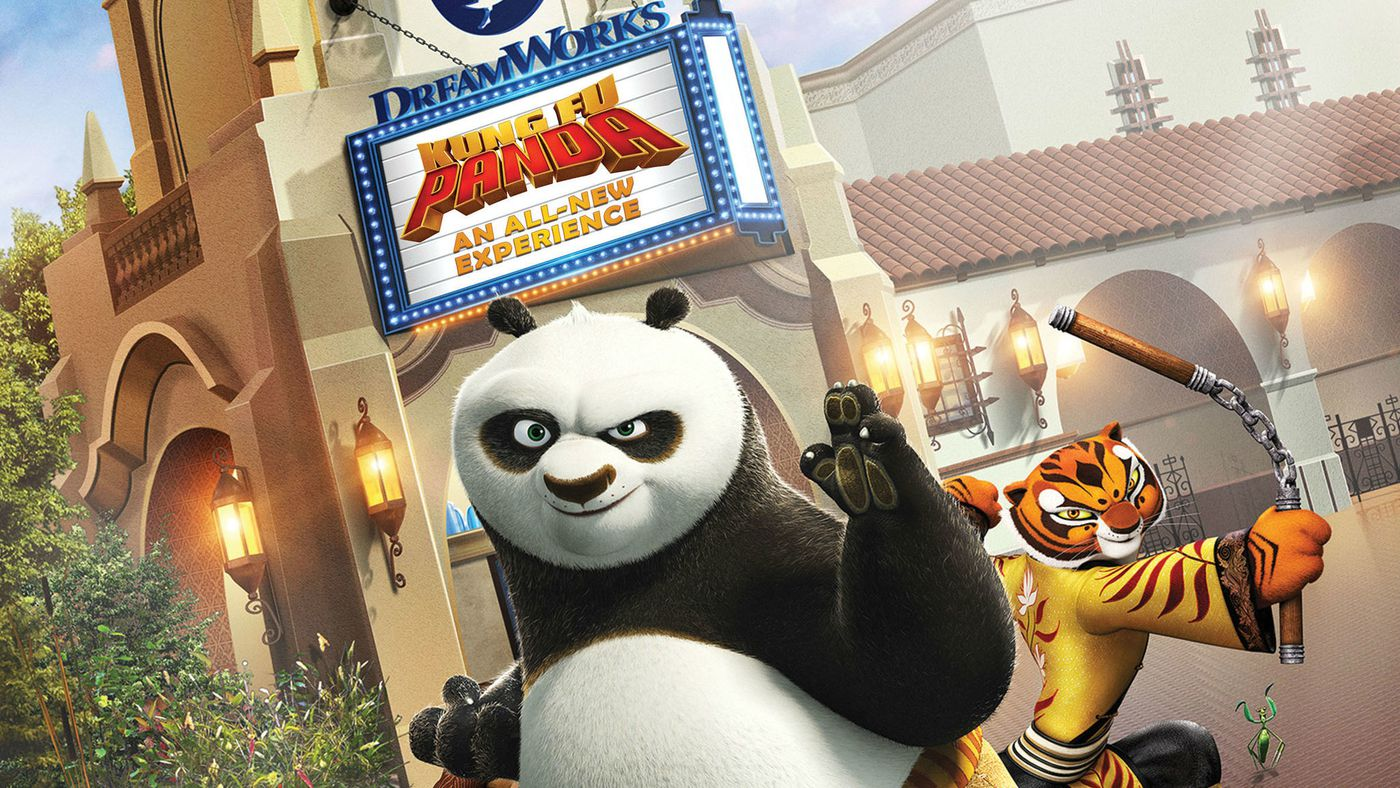 "DreamWorks Theatre ""Kung Fu Panda: The Emperor's Quest"""