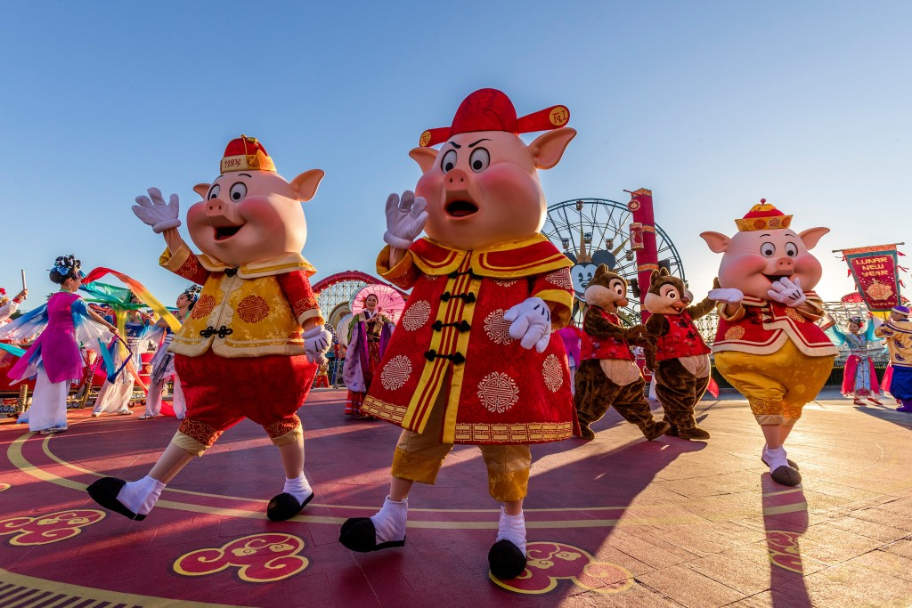 ÒMulanÕs Lunar New Year ProcessionÓ at Disney California Adventure Park