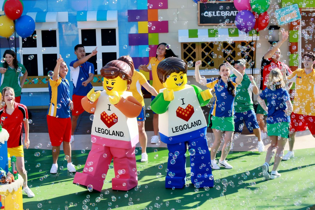 Emily and Jake, new characters at Legoland California on Tuesday, March 5, 2019.(Photo by Sandy Huffaker/Legoland)