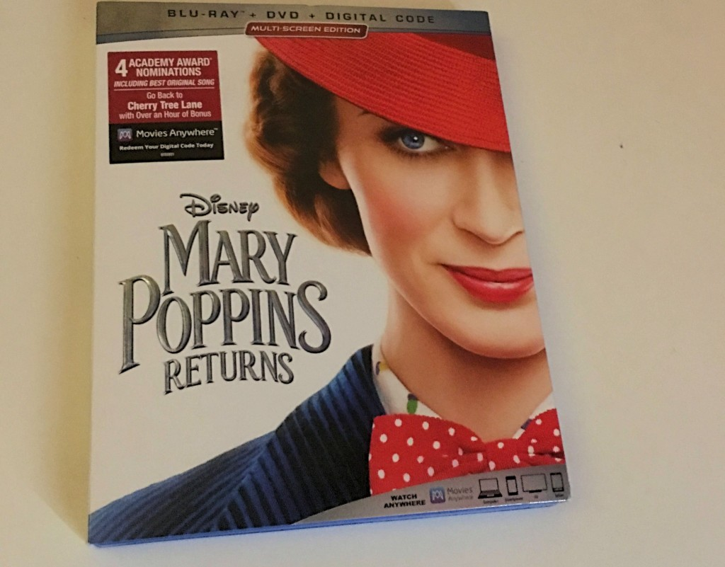 Mary Poppins Returns DVD