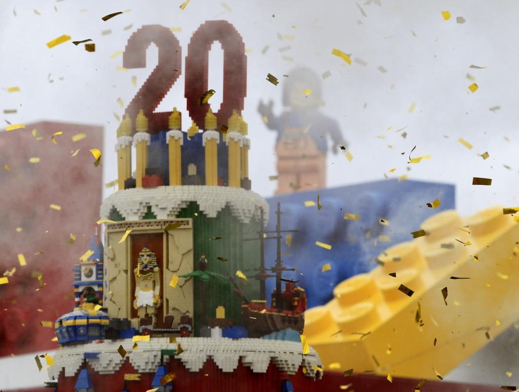 Aniversario de Legoland,CA