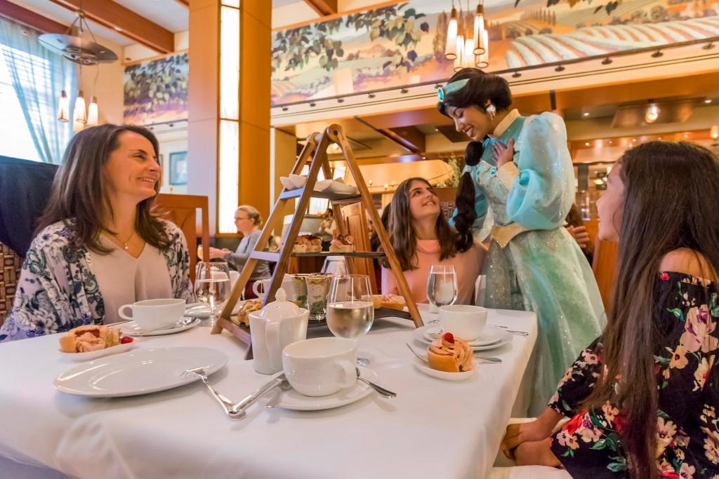 Disney Princess Breakfast Adventures at DisneyÕs Grand Californian Hotel & Spa