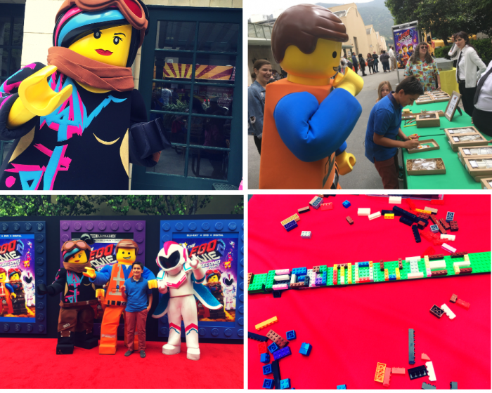 Lego 2: The Second Part DVD launch