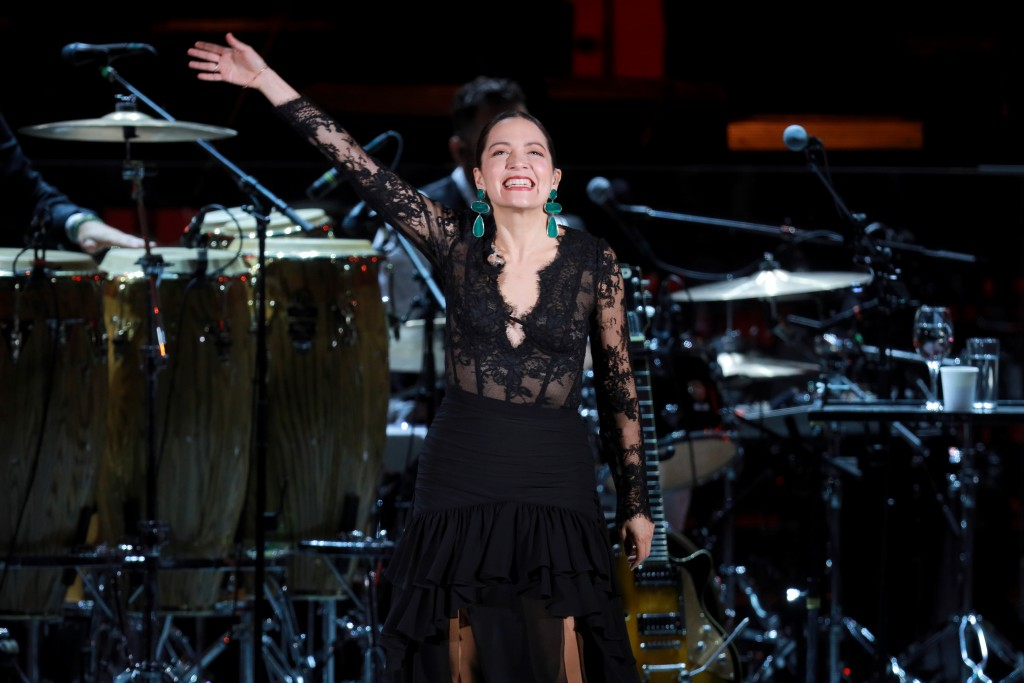 Hollywood Bowl - Natalia Lafourcade and Gustavo Dudamel  Photos by Craig T. Mathew and Greg Grudt/Mathew Imaging