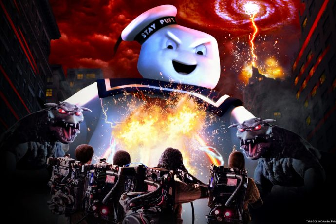 ghostbusters Universal Studios Holywood