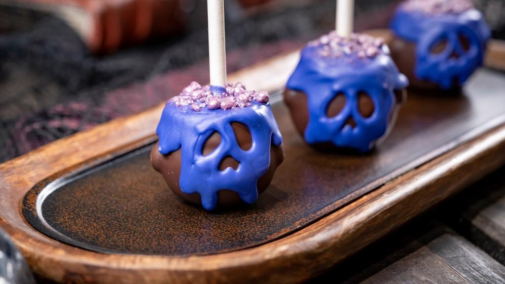 Halloween Time Treats at Disneyland Resort – Cauldron Cake Pop