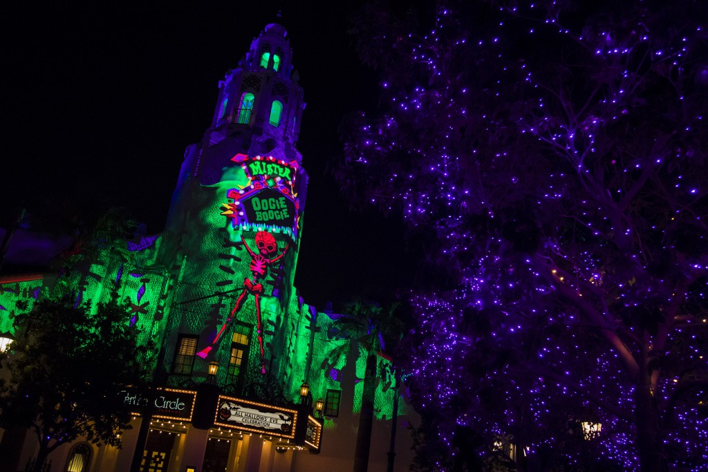 Oogie Boogie Bash at Disney California Adventure