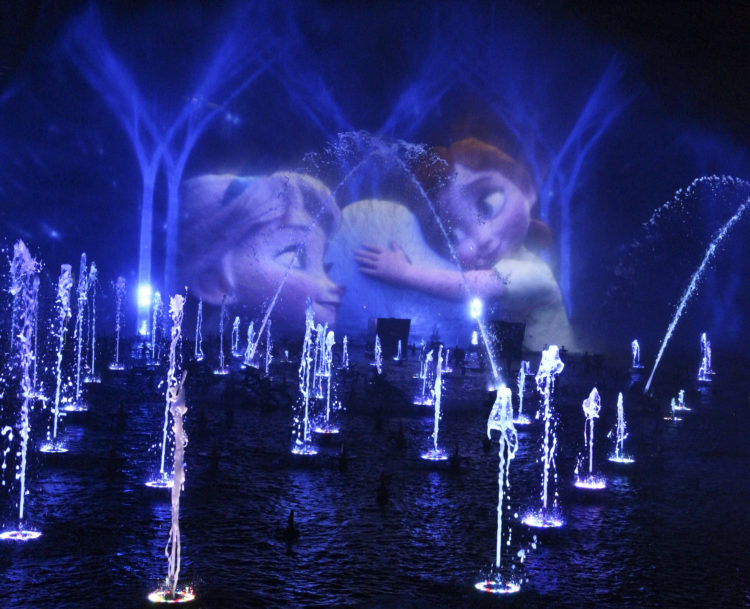 "Holidays at Disneyland Resort - ""World of Color – Season of Light"" at Disney California Adventure Park"