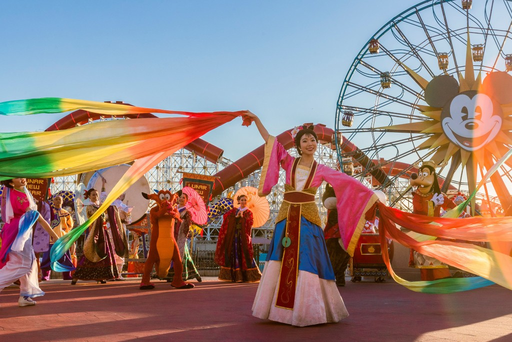 Lunar New Year celebrates the Year of the Mouse at Disney California Adventure Park
