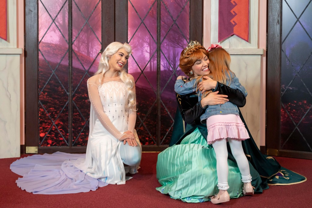 Anna and Elsa's Royal Welcome at Disney California Adventure Park