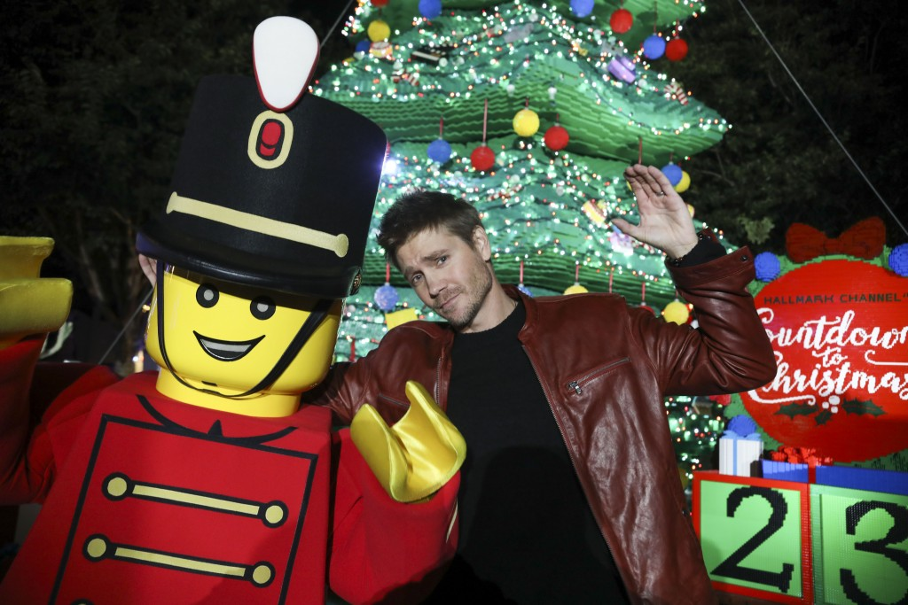 Legoland Tree Lighting 2019.(Photo by Sandy Huffaker/Legoland)