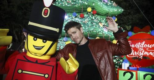 Legoland Tree Lighting 2019.(Photo by Sandy Huffaker/Legoland)