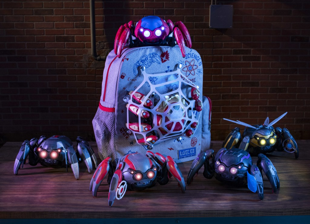 Avengers Campus Merchandise – Spider-Bot Tactical Upgrades and Spider-Man Backpack