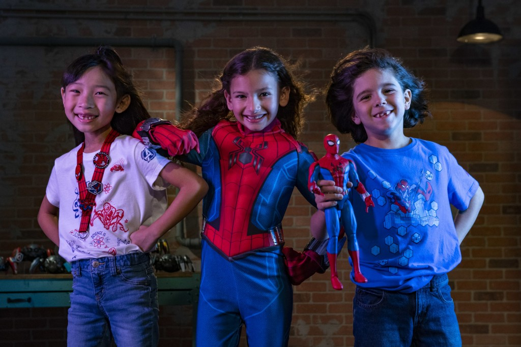 Avengers Campus Merchandise – WEB Youth Apparel and Spider-Man Costume
