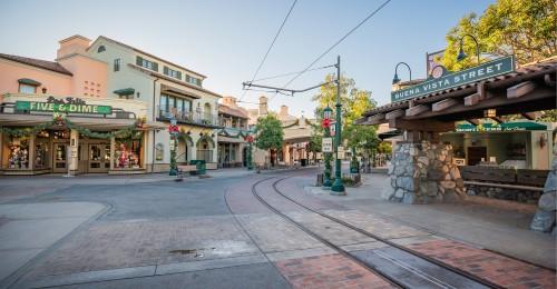 Downtown Disney District at Disneyland Resort Extends to Buena Vista Street