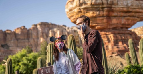 Disneyland Resort Introduces ÔA Touch of Disney,Õ a New, Limited-Capacity Ticketed Experience at Disney California Adventure Park Beginning March 18